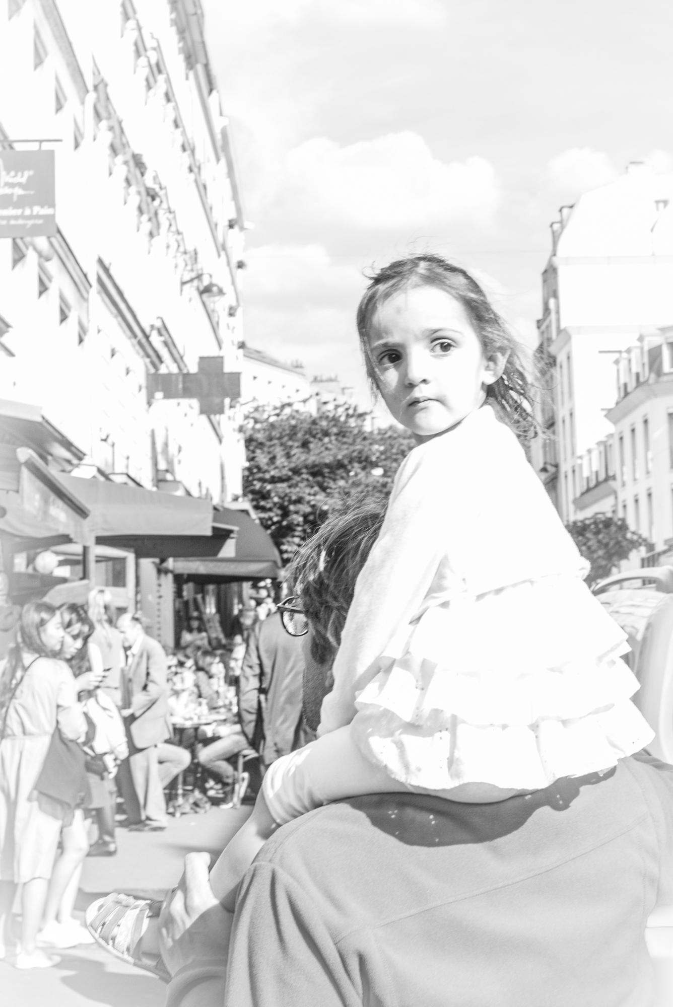 Schnappschüsse vom Montmartre