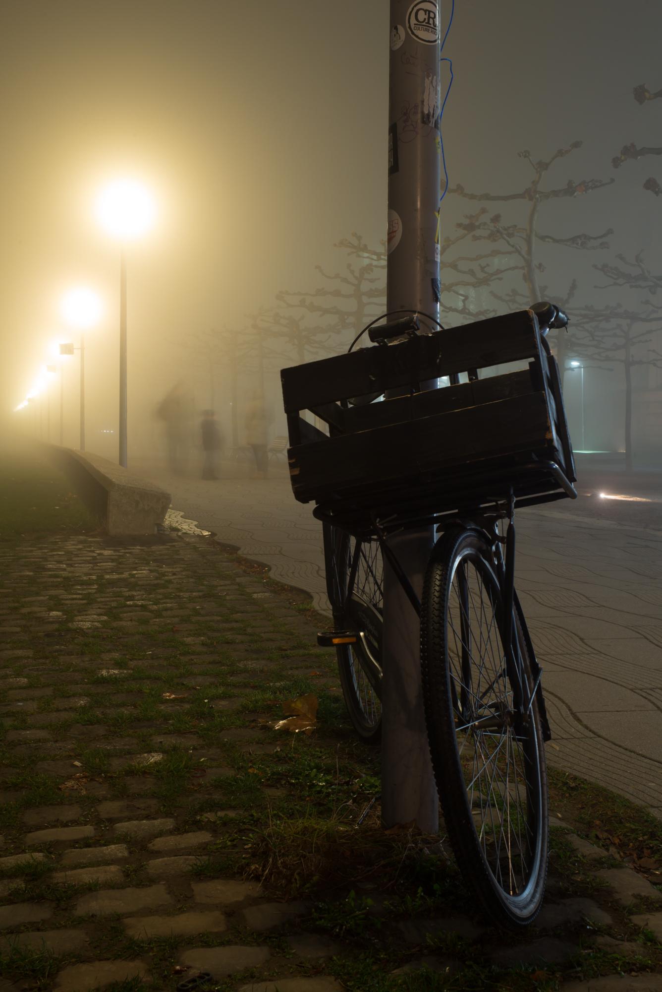 Langzeitbelichtungen bei Nebel mit der Leica M und dem Summarit 35 Asph.