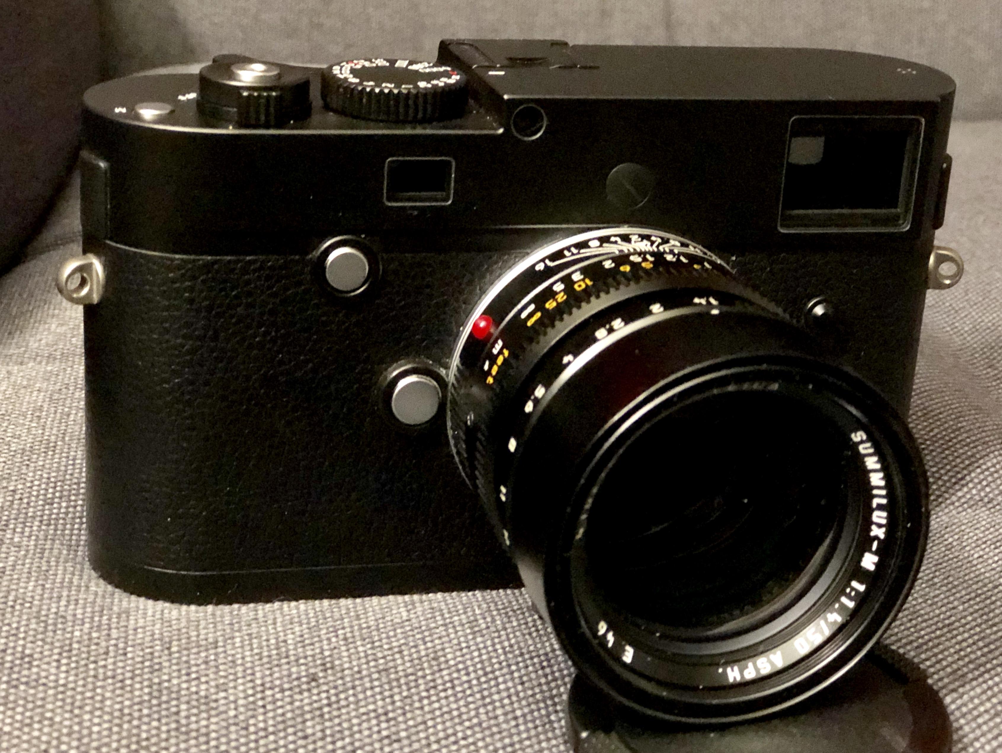 Leica M246 mit Summilux 50 1.4 Asph.